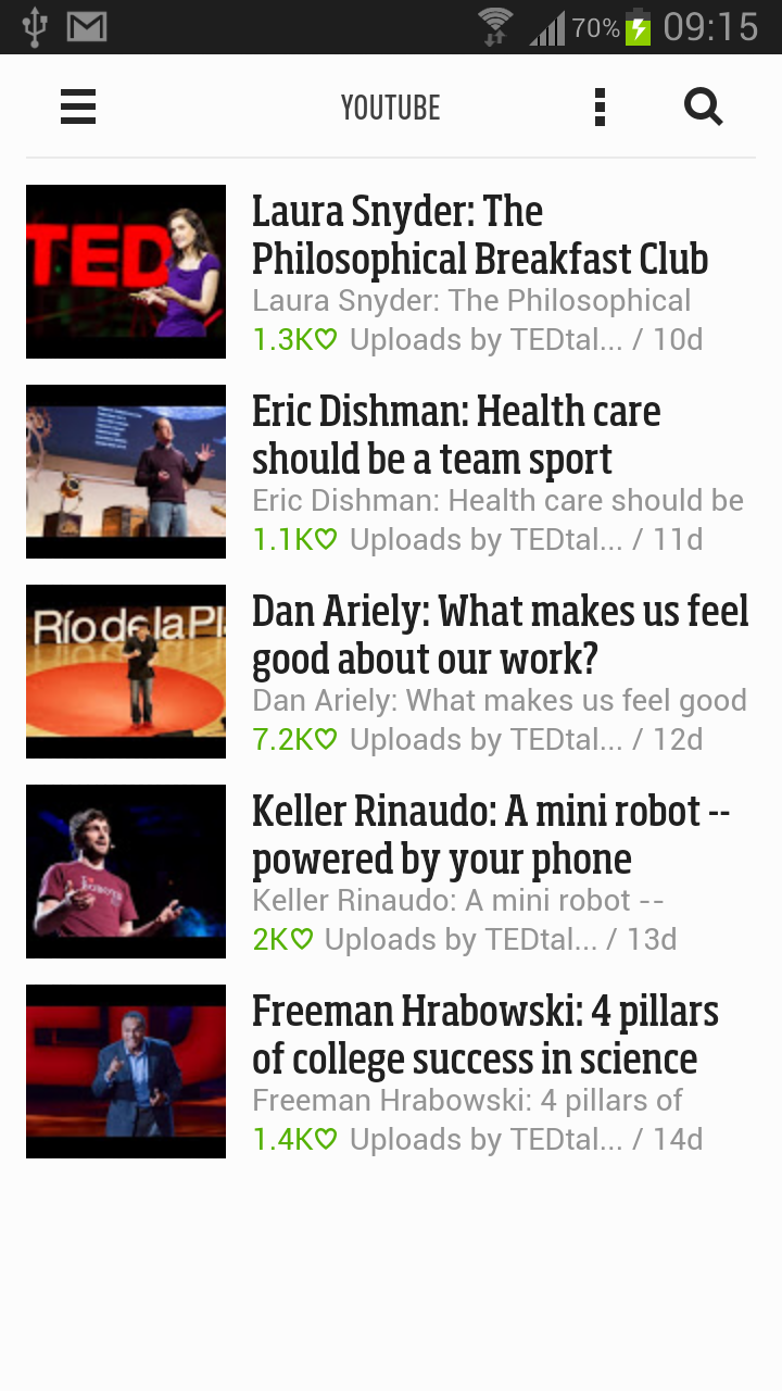 Feedly on Android