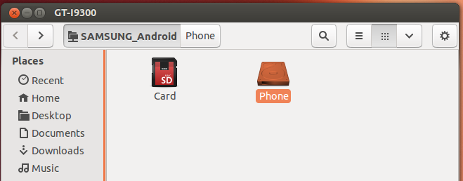 native support for Galaxy S3 on Ubuntu