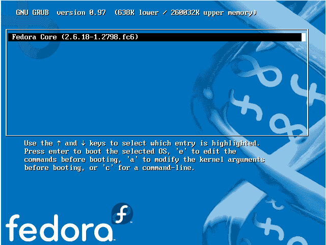 fedora password recovery