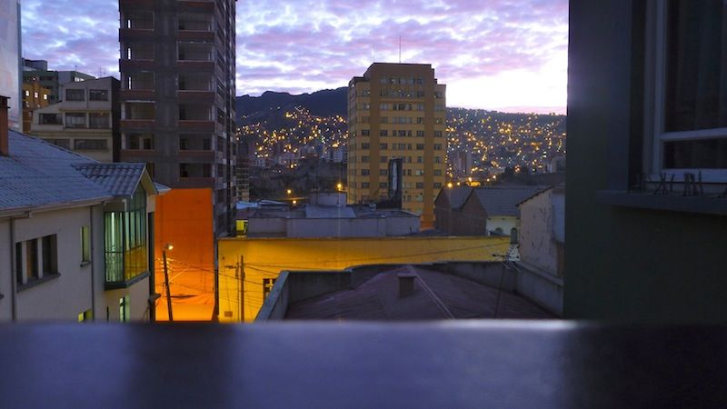 La Paz early in the morning